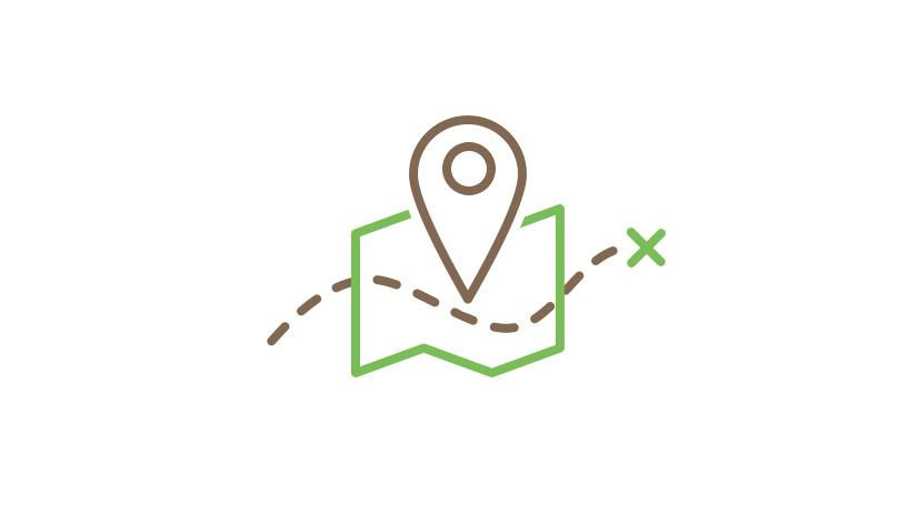 Illustration for park map